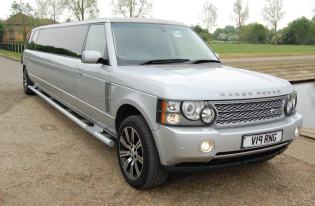 range rover limo hire corby